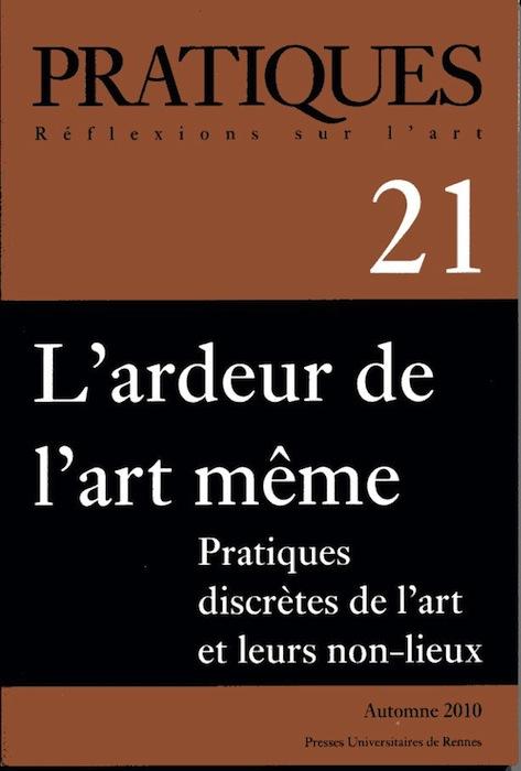 Revue Pratiques, Presses Universitaires de Rennes